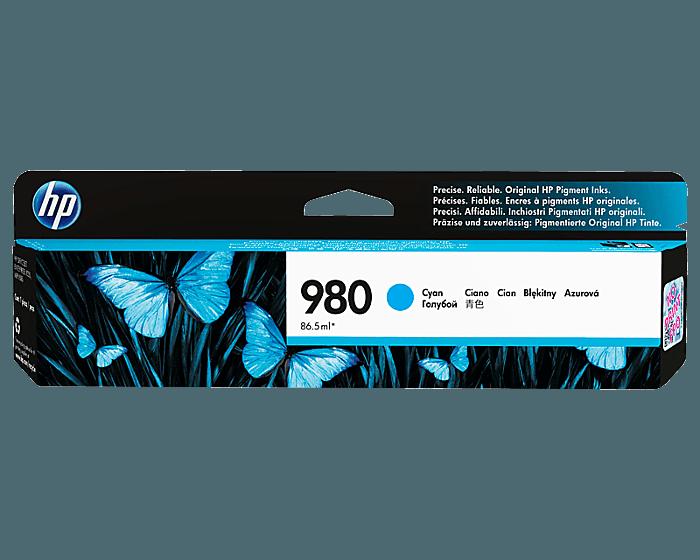 HP 980 시안 정품 잉크 카트리지