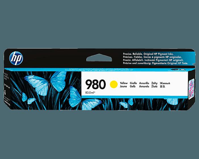 HP 980 노랑 정품 잉크 카트리지