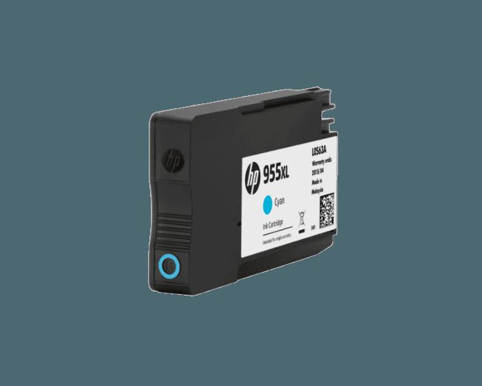 HP 955XL 대용량 시안 정품 잉크 카트리지