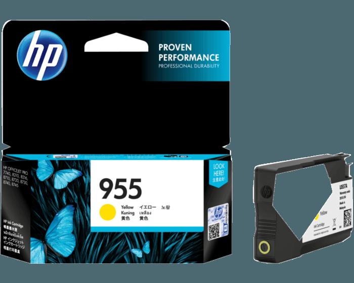 HP 955XL 대용량 노랑 정품 잉크 카트리지