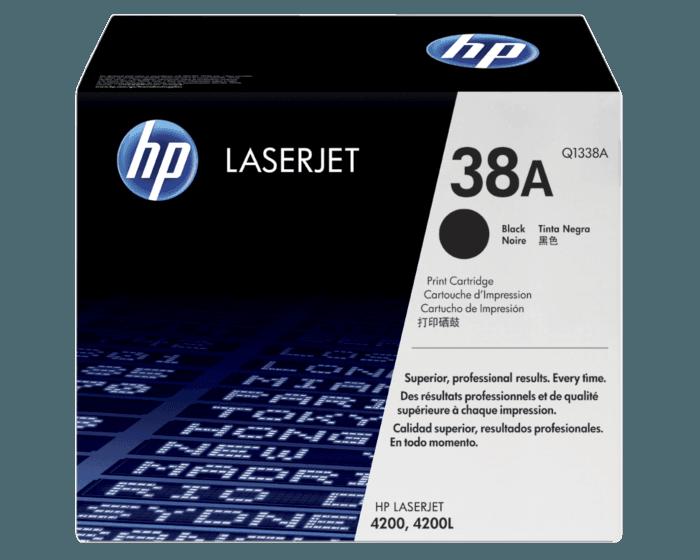 HP 38A 검정 정품 레이저젯 토너 카트리지