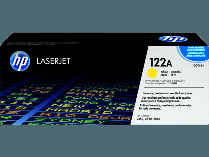 HP 122A Yellow Original LaserJet Toner Cartridge