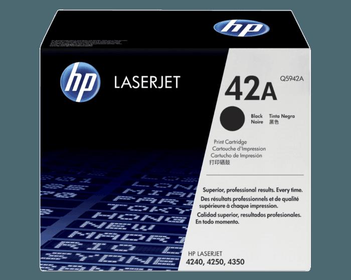 HP 42A 검정 정품 레이저젯 토너 카트리지