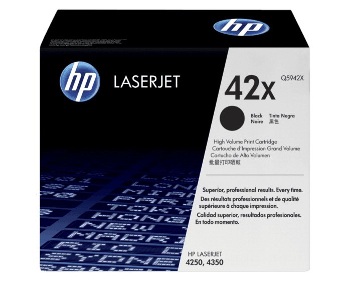 HP 42X High Yield Black Original LaserJet Toner Cartridge