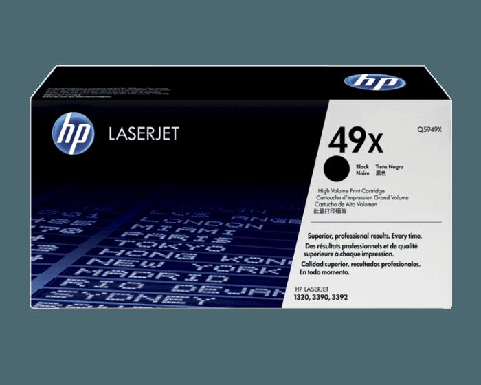 HP 49X 대용량 검정 정품 레이저젯 토너 카트리지