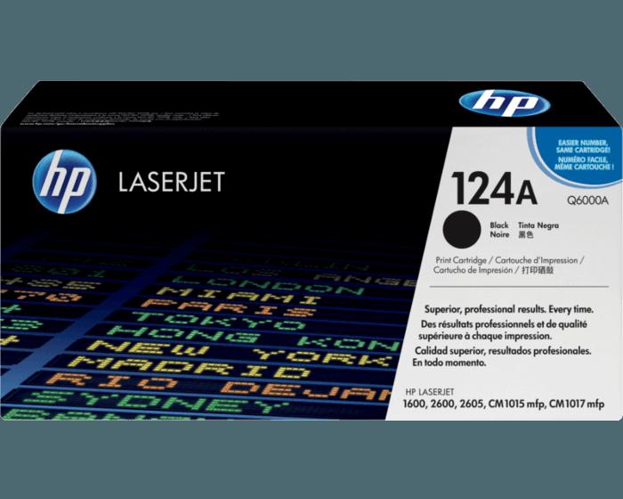 HP 124A 검정 정품 레이저젯 토너 카트리지