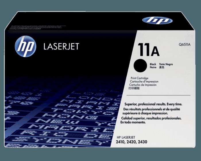 HP 11A 검정 정품 레이저젯 토너 카트리지