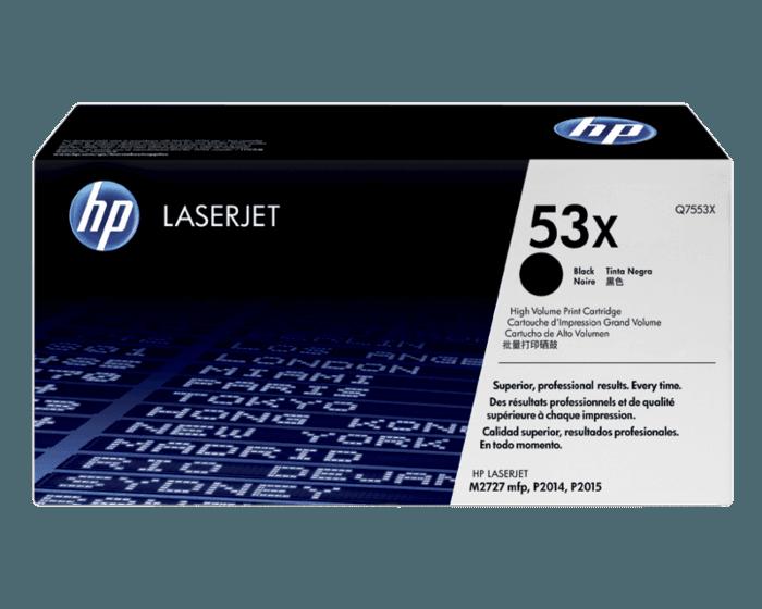HP 53X 대용량 검정 정품 레이저젯 토너 카트리지