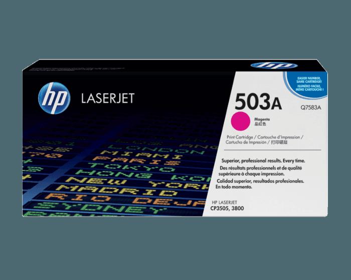 HP 503A 마젠타 정품 레이저젯 토너 카트리지