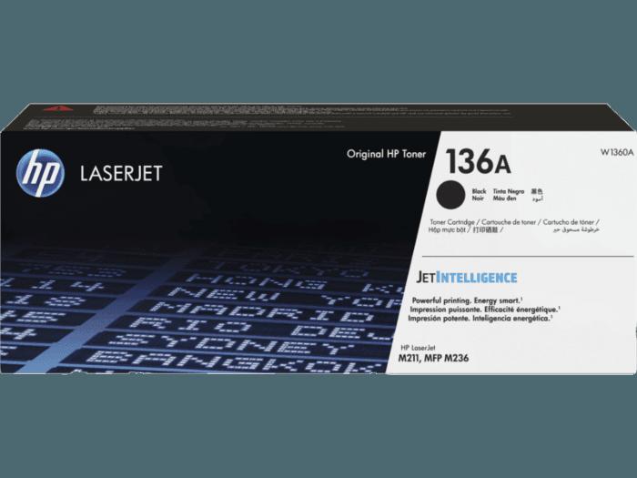 HP 136A 검정 정품 LaserJet 토너 카트리지