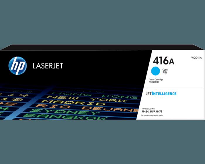HP 416A 시안 정품 LaserJet 토너 카트리지