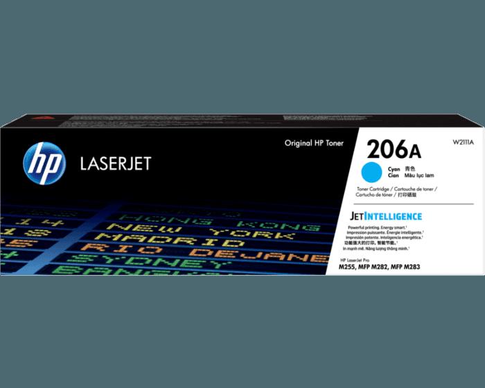HP 206A Cyan Original LaserJet Toner Cartridge