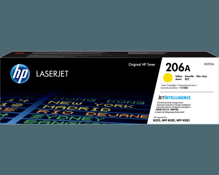HP 206A 노랑 정품 LaserJet 토너 카트리지