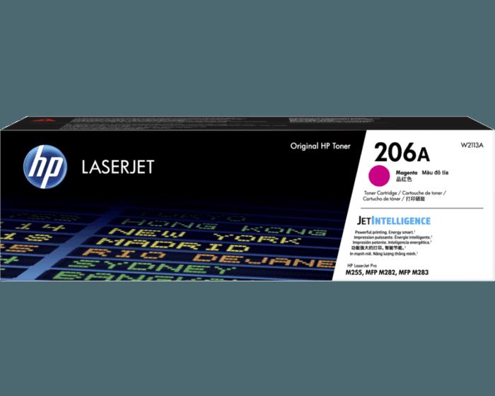 HP 206A 마젠타 정품 LaserJet 토너 카트리지