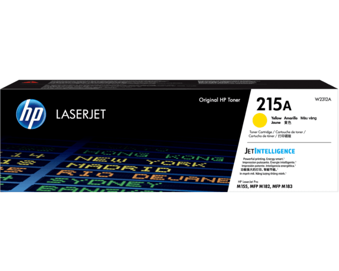 HP 215A 노랑 정품 LaserJet 토너 카트리지
