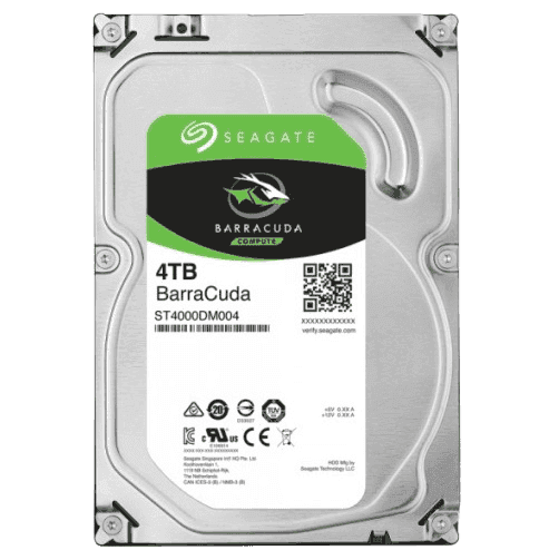 씨게이트 HDD 4TB 3.5 바라쿠다(5400/256M)