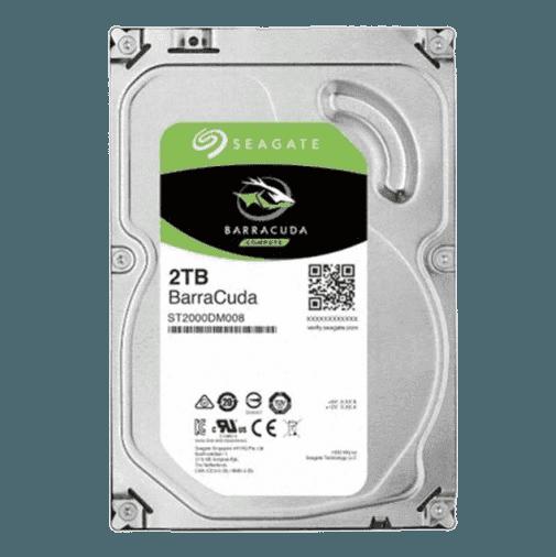 씨게이트 HDD 2TB 3.5 바라쿠다(7200/256M)