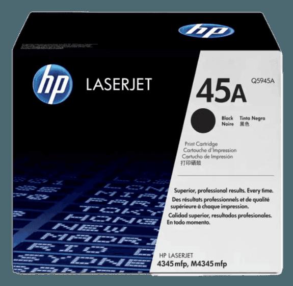HP 45A 검정 정품 레이저젯 토너 카트리지