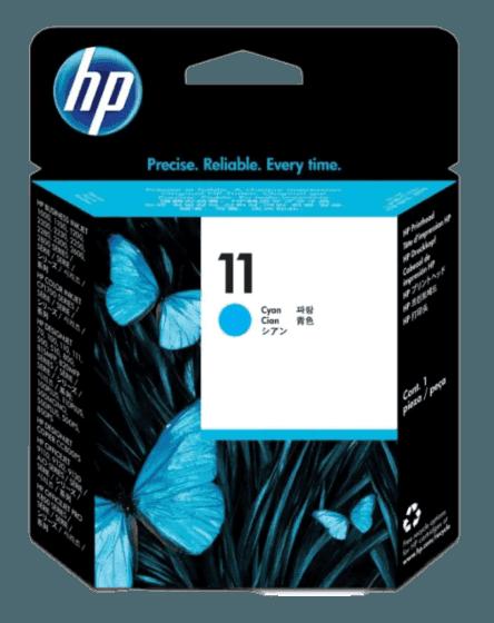HP 11 시안색 프린트 헤드