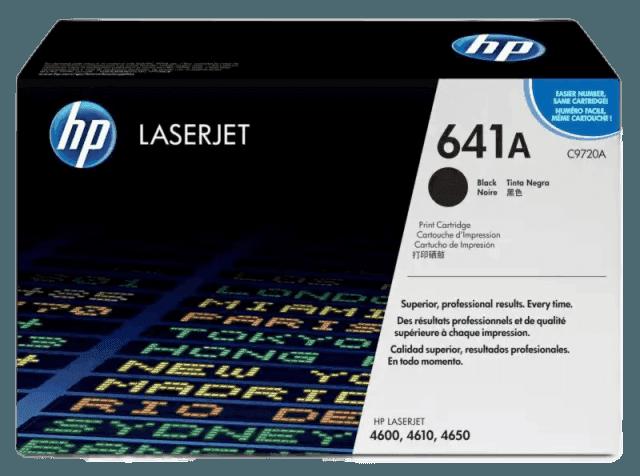HP 641A 검정 정품 LaserJet 토너 카트리지