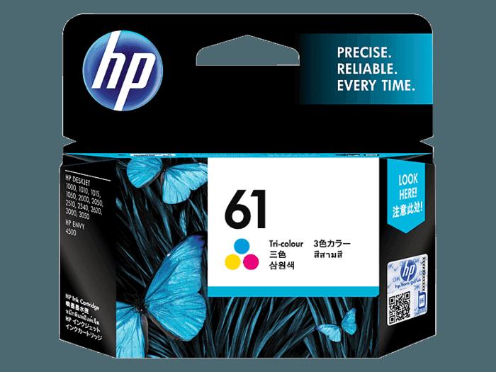 HP 61 3색 정품 잉크 카트리지