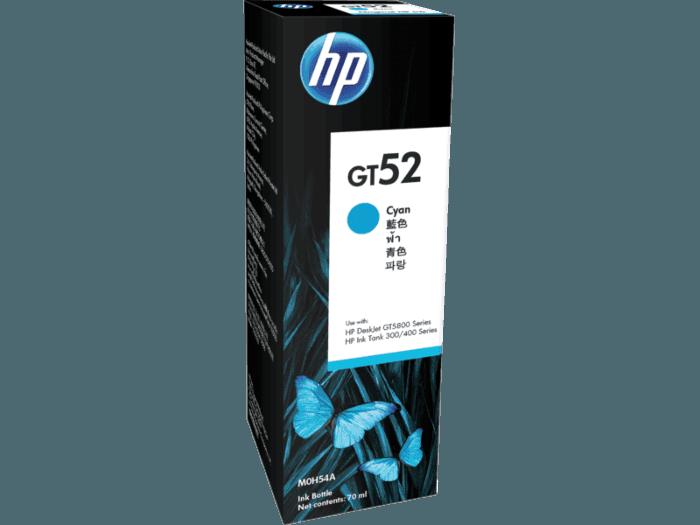 HP GT52 시안 정품 잉크병