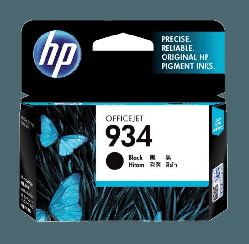HP 934 검정 정품 잉크 카트리지