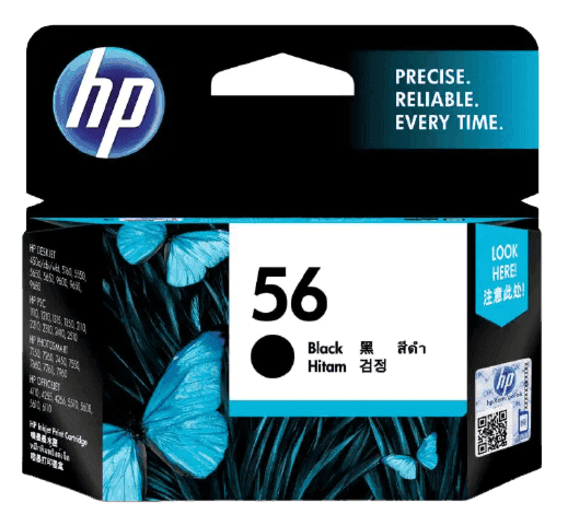 HP 56 Black Original Ink Cartridge