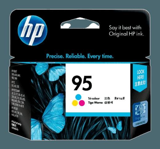 HP 95 3색 정품 잉크 카트리지