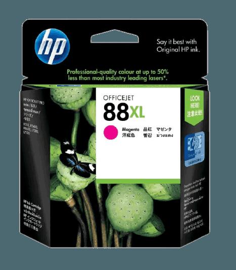 HP 88XL 대용량 마젠타 정품 잉크 카트리지