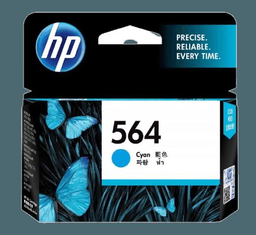 HP 564 시안 정품 잉크 카트리지