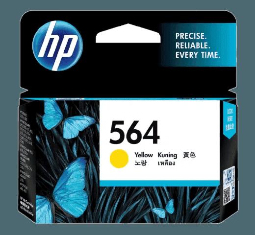 HP 564 노랑 정품 잉크 카트리지