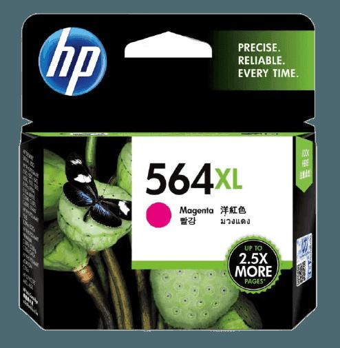 HP 564XL 대용량 마젠타 정품 잉크 카트리지