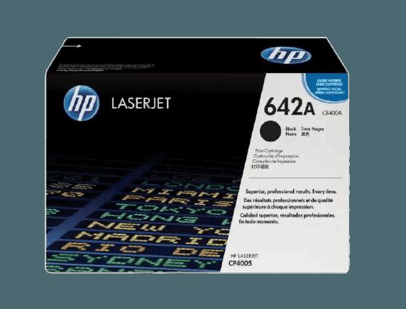 HP 642A 검정 정품 레이저젯 토너 카트리지