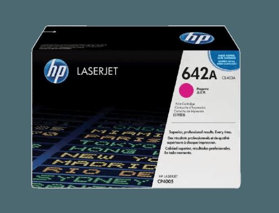 HP 642A 마젠타 정품 레이저젯 토너 카트리지