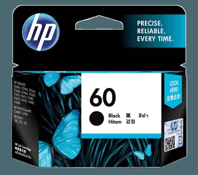 HP 60 검정 정품 잉크 카트리지