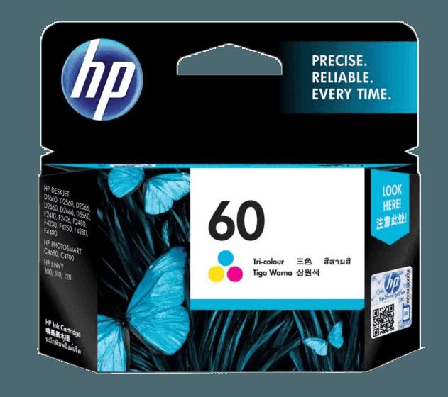 HP 60 3색 정품 잉크 카트리지