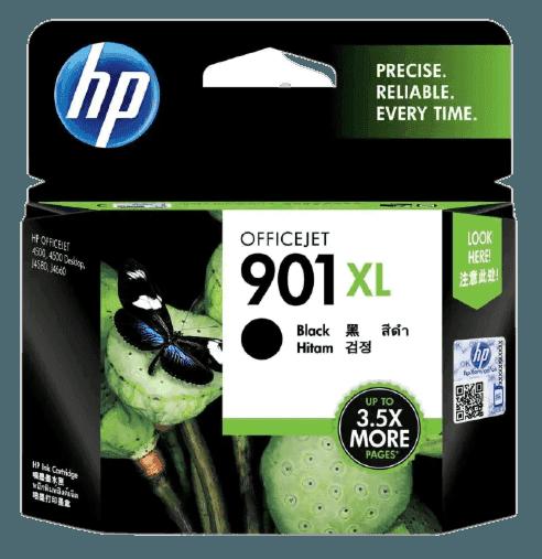 HP 901XL 대용량 검정 정품 잉크 카트리지