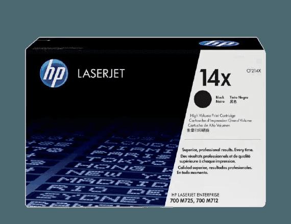 HP 14X 대용량 검정 정품 레이저젯 토너 카트리지