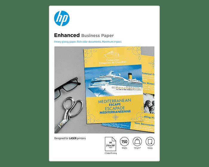 HP 전문가용 광택 레이저 용지 150gsm-150매/A4/210 x 297mm