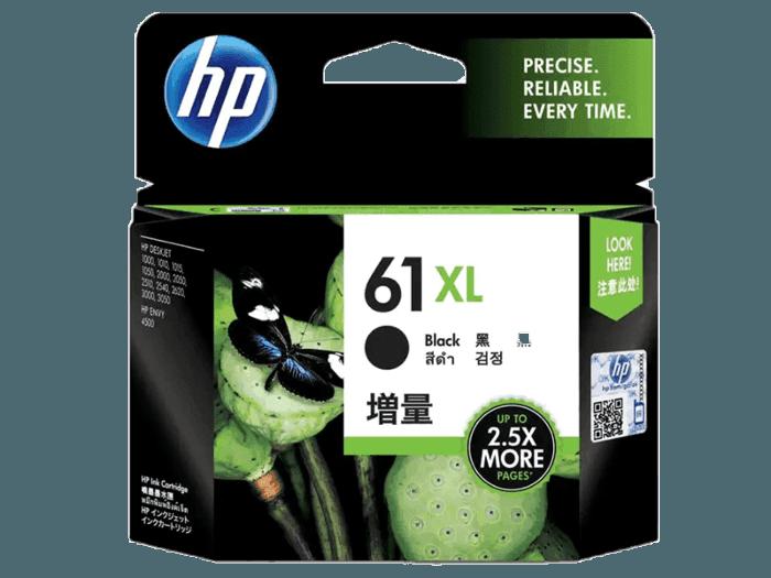 HP 61XL 대용량 검정 정품 잉크 카트리지