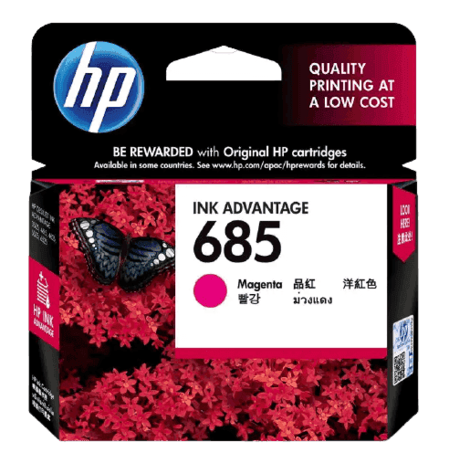 HP 685 마젠타 정품 잉크 고급 카트리지
