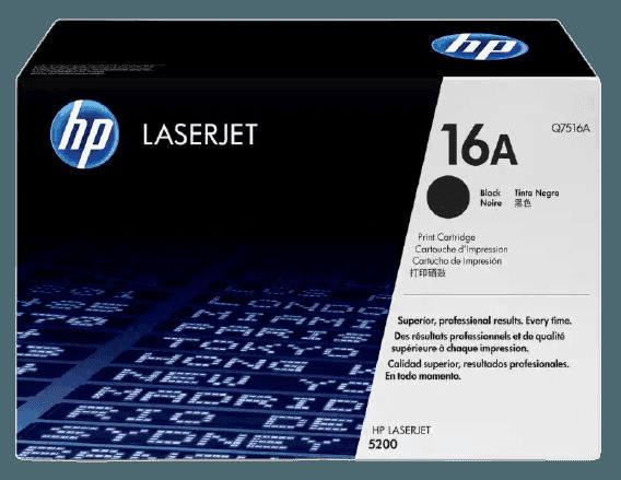HP 16A 검정 정품 LaserJet 토너 카트리지