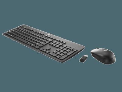 HP 슬림 무선 키보드 및 마우스