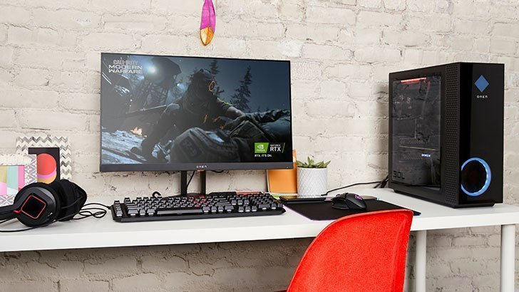 AMD FreeSync로 뛰어난 시각적 경험을 제공하는 Omen 데스크탑 PC